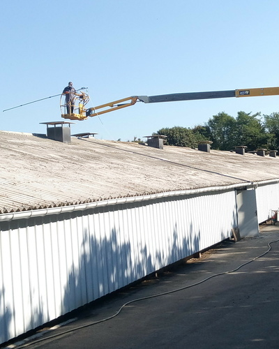 Hydrofuge de toitures batiments, entreprises, installations agricoles
