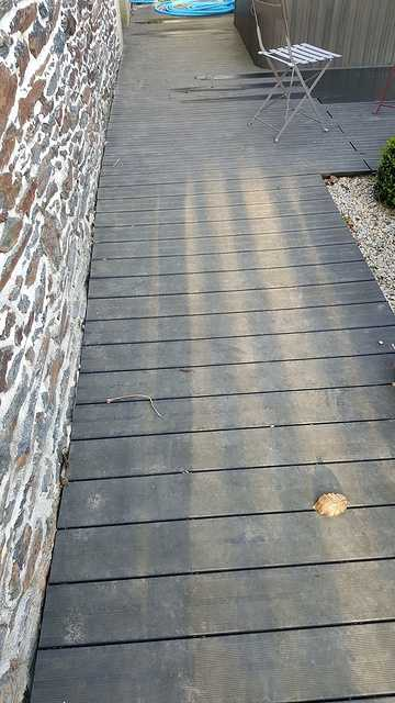 Lavage terrasse bois composite 7