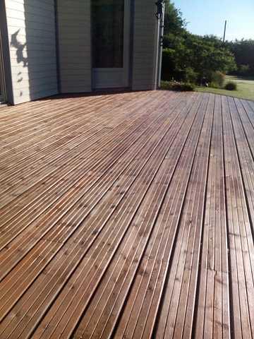 Nettoyage terrasse bois 5