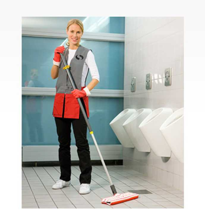 lavage des sols des sanitaires